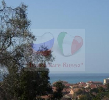 House in Bordighera with sea view