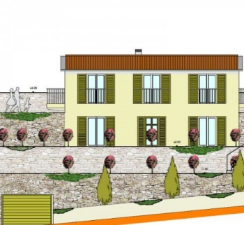 Buy a villa project in the resort city of Italy
