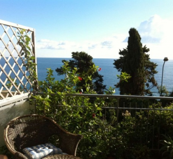 Apartment on the sea in Caponero, San Remo