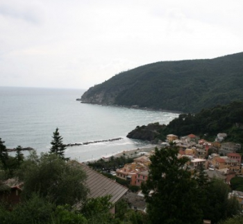 Villa in Moneglia with sea view