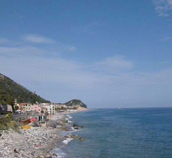 House by the sea in Finale Ligure