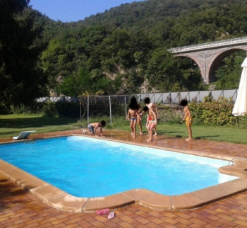 Villa with pool in Isola del Canton