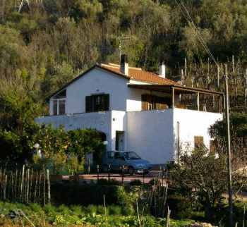 Villa with garden in Tovo San Giacomo