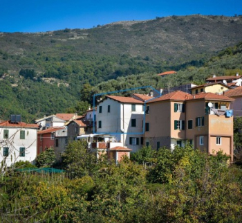 Residential building in the mountains in Chiusanico