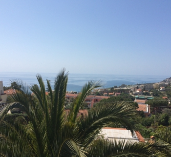 Villa in Sanremo with sea view