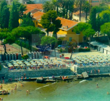 Diano Marina villa by the sea with its own beach
