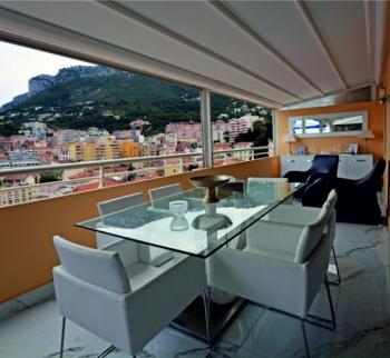 Apartments with sea and Beausoleil views