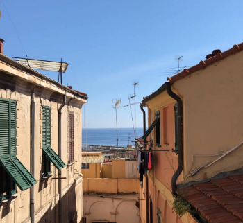 Cheap apartment in Sanremo with sea view