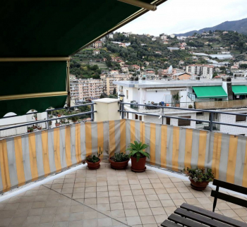 Apartments with sea and Sanremo views