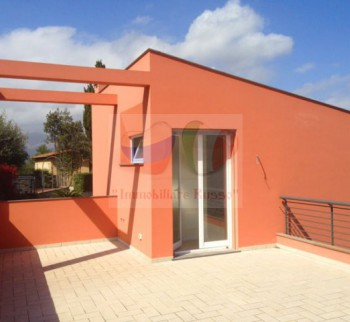 New villa in Diano Marina with sea view