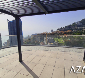 Monaco Plaza new penthouse in Beausoleil
