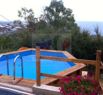 Rent an apartment in a villa in Italy, Liguria