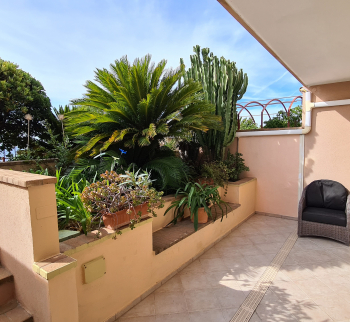 Apartment in Bordighera with sea view