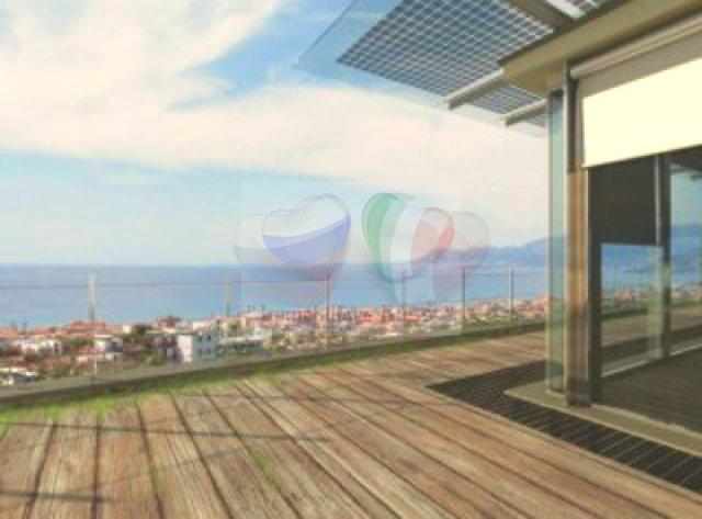 Buy land overlooking the bay in Bordighera