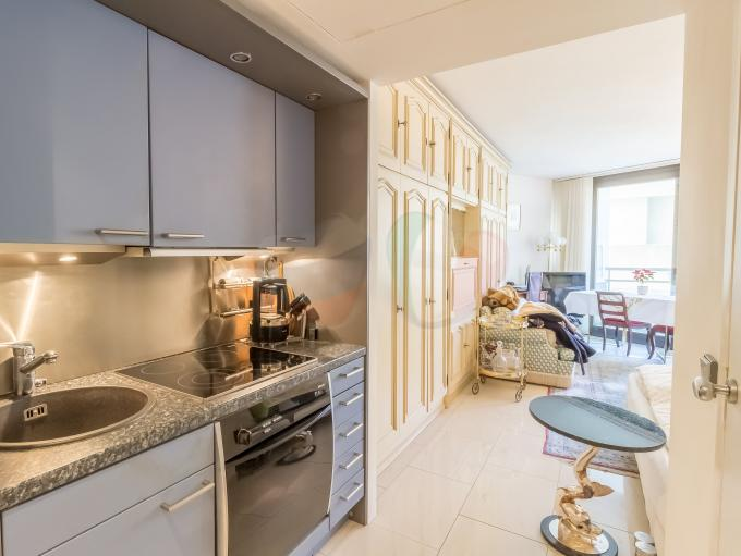 First line studio apartment in Monte Carlo