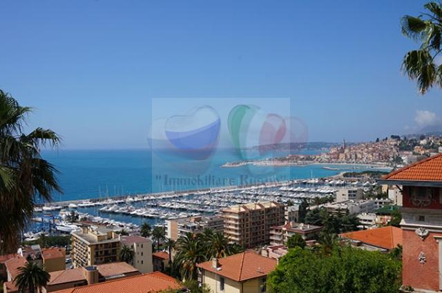 Villa for sale on the sea in Menton, French Riviera ...