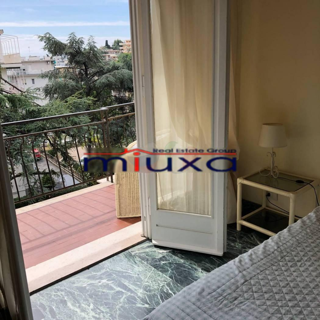 Apartment with a garden in Sanremo